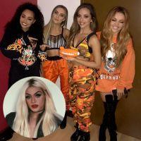"Little Mix conhece Pabllo Vittar e Perrie Edwards rebola ouvindo ""K.O."""