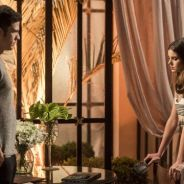 "Novela ""Pega Pega"": Luiza (Camila Queiroz) e Eric passam por crise no casamento após mentiras"