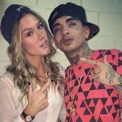 """MC Guime participa do programa """"Vai que Cola"""" e é tietado por Fiorella Mattheis"""