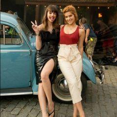 """Agatha Moreira e Isabella Santoni surgem lindas nos bastidores do filme """"Missão Cupido"""""""