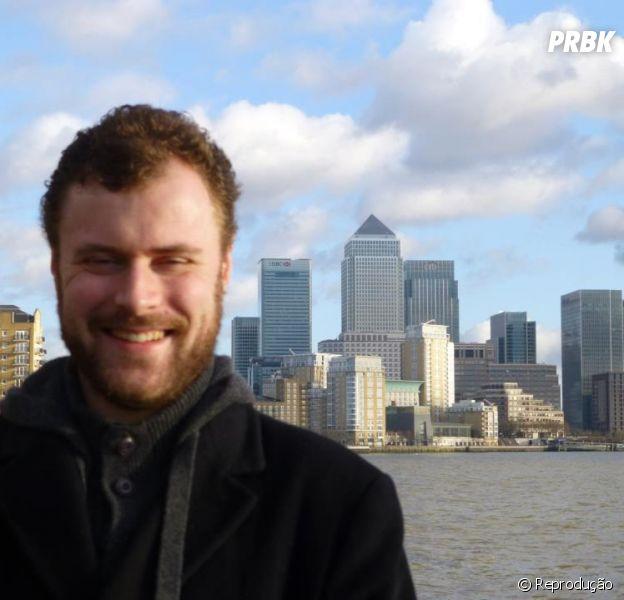 Adam Dolman é formado em TI (Tecnologia de Informação) e dá dicas sobre o curso