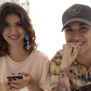 Giovanna Grigio e Christian Figueiredo namorando? Dupla testa sua compatibilidade em brincadeira!