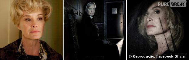 """Jessica Lange com certeza é imortal! Ela foi super importante em todas as temporadas de """"American Horror Story"""""""