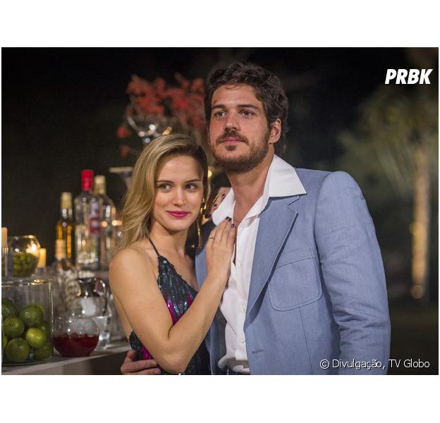 """Rafael (Marco Pigossi) e Vitória (Bianca Bin) são um casal que não se ama em """"Boogie Oogie"""""""