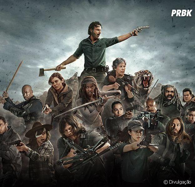 """Em """"The Walking Dead"""", na 8ª temporada, série se prepara para grande confronto no último episódio"""