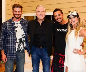 """Marcos Harter, Flávia Viana e Matheus Lisboa fizeram a final de """"A Fazenda - Nova Chance"""" nesta quinta-feira (07)"""