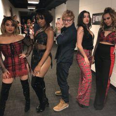 """Ed Sheeran posa ao lado de Fifth Harmony e fãs surtam na internet: """"Parceria, por favor!"""""""