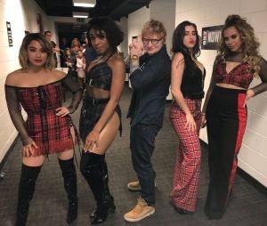 Ed Sheeran e Fifth Harmony posam juntos e fãs falam de parceria!