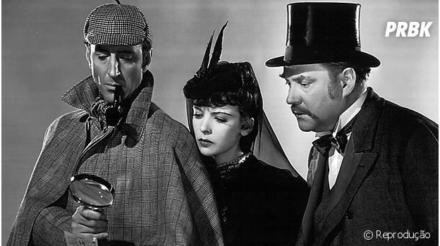 Sherlock Holmes e seu clássico bordão