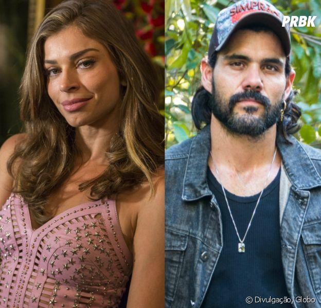 """Em """"O Outro Lado do Paraíso"""", Lívia (Grazi Massafera) e Mariano (Juliano Cazarré) vivem romance!"""