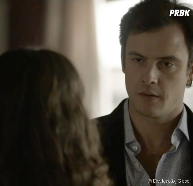 "Em ""O Outro Lado do Paraíso"", Gael (Sergio Guizé) dá ataque ao ver Clara (Bianca Bin) e Renato (Rafael Cardoso) juntos"