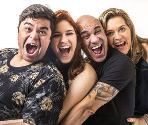 """A família Lima marcou a estreia do """"BBB18"""" e já chegou causando muito"""