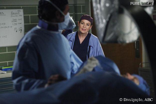 """Em """"Grey's Anatomy"""", Meredith (Ellen Pompeo) e Derek (Patrick Dempsey) enfrentam problemas em sua relação"""