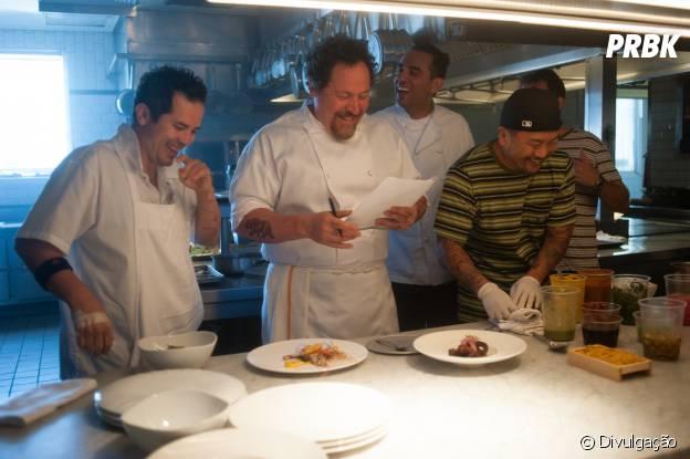 """""""Chef"""" traz Jon Favreu na pele de um cozinheiro"""