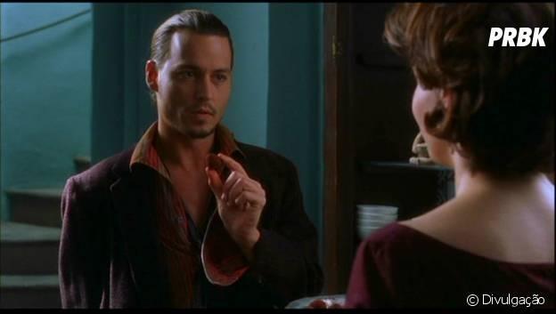 "Johnny Depp e Juliette Binoche estrelam ""Chocolate"""