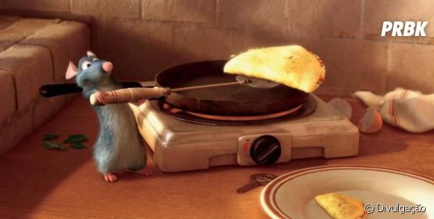 """Ratatouille"" traz ratinho cozinheiro"