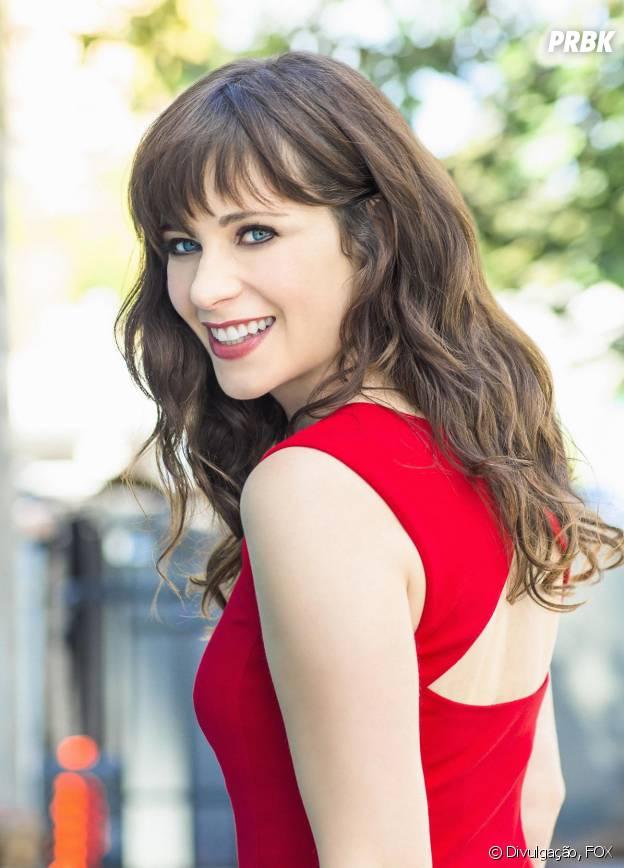 """Jess (Zooey Deschannel) vai ser ameaçada pela personagem de Jessica Biel em """"New Girl"""""""