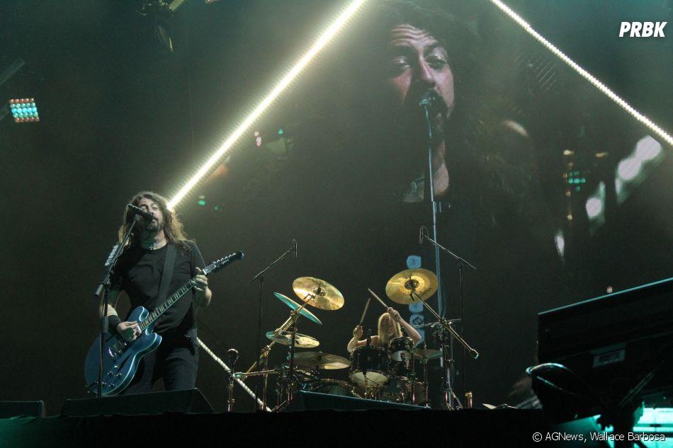 Foo Fighters emocionou o público presente no Maracanã, Rio de Janeiro