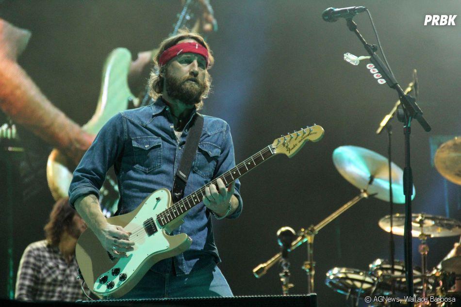 Foo Fighters estavam com a banda completa em seu primeiro show da turnê no Brasil
