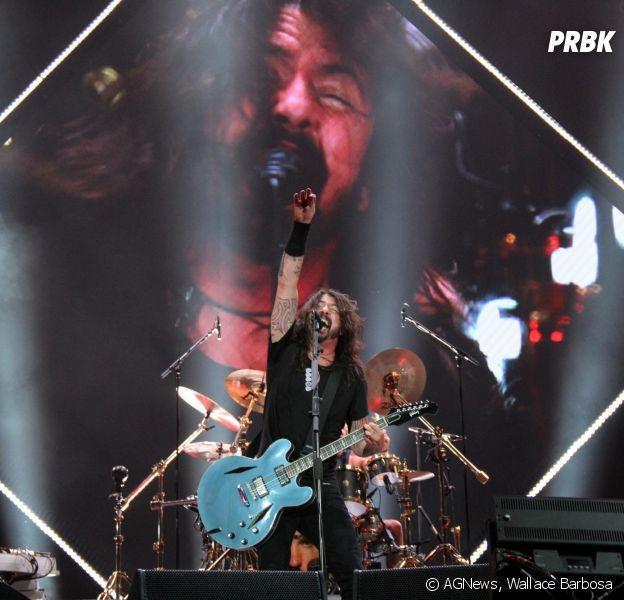 Foo Fighters iniciaram o show pontualmente na abertura de sua turnê no Rio de Janeiro