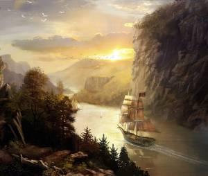 """Em """"Assassin's Creed: Rogue"""": artbook das paisagens náuticas"""
