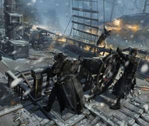 """Conflitos navais de """"Assassin's Creed: Rogue"""" foram melhorados"""