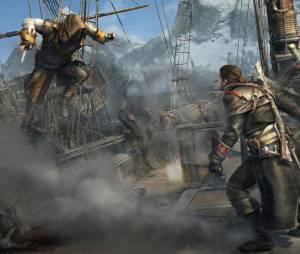 """Em """"Assassin's Creed: Rogue"""", os navios serão atacados por assassinos tentando emboscar o protagonista"""