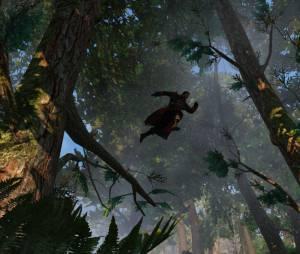 """Screenshot de """"Assassin's Creed: Rogue"""" mostra o personagem principal"""