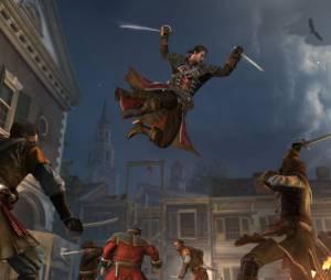 """Personagem principal é um templario e ataca usando duas espadas em """"Assassin's Creed: Rogue"""""""