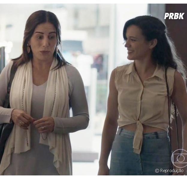 """Em """"O Outro Lado do Paraíso"""", Beth (Gloria Pires) agride Clara (Bianca Bin)"""