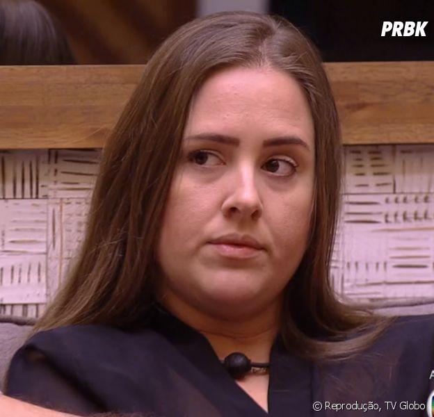 """Patrícia, do """"BBB18"""", pode entrar na história do programa como uma das participantes mais rejeitadas pelo público em Paredões triplos"""
