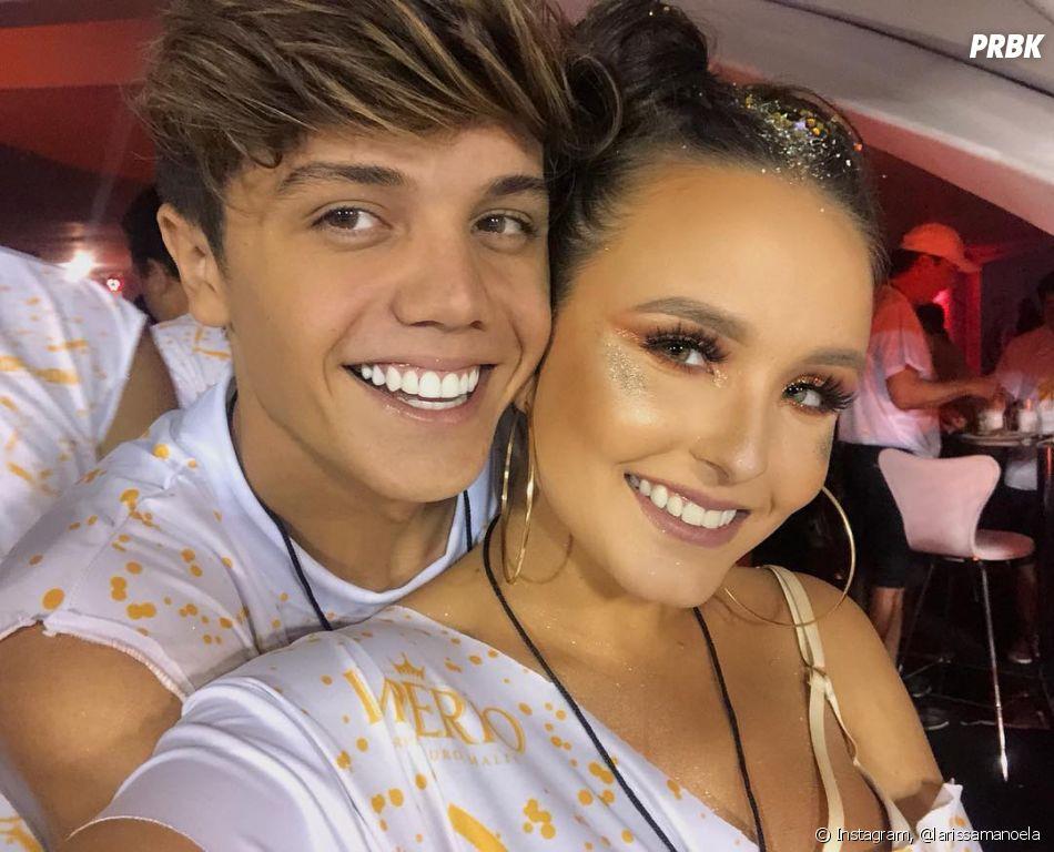 Larissa Manoela e o namorado, Leo Cidade, já namoram há 4 meses