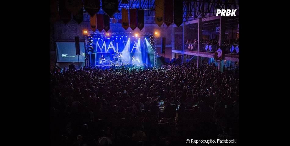 A Banda Malta começou sua turnê pela região Sul do Brasil