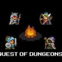 "Game para celular ""Quest of Dungeons"" resgata o estilo roguelike #MorreuBabou"