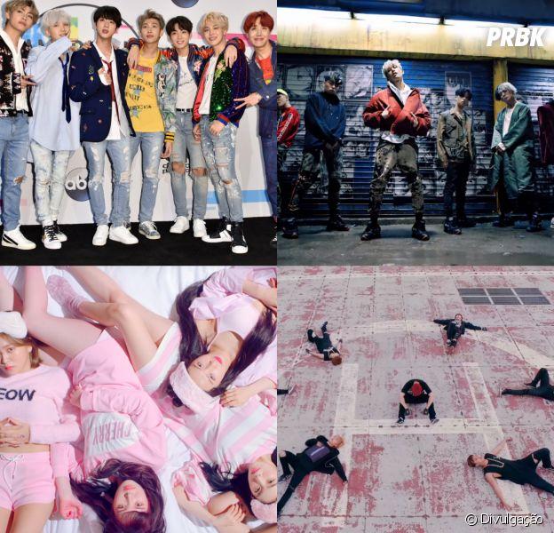 BTS, EXO, iKON, Red Velvet e mais grupos de K-Pop que você precisa conhecer!