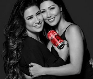Com 31% dos votos, Simone & Simaria foram as segundas colocadas na votação da Fan Feat Coca-Cola