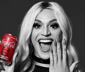 O terceiro lugar do Fan Feat Coca-Cola ficou com Pabllo Vittar, com 14% dos votos