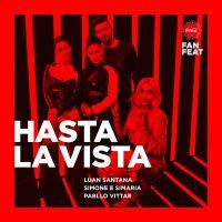 """Luan Santana, Pabllo Vittar e Simone & Simaria lançam música juntos! Ouça """"Hasta La Vista"""""""