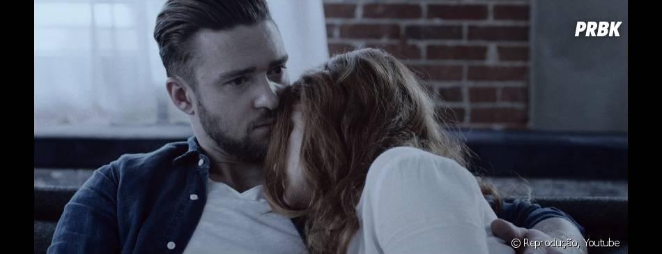 """Justin Timberlake acaba sofrendo nas mãos da namorada em """"TKO"""""""