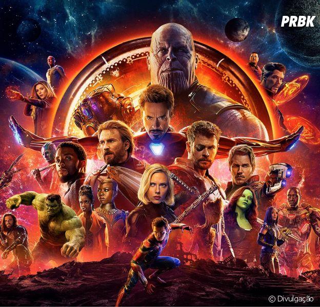 """Mesmo sem entrar em cartaz na China, o filme """"Vingadores: Guerra Infinita"""" se tornou a estreia mais bem-sucedida da história do cinema"""
