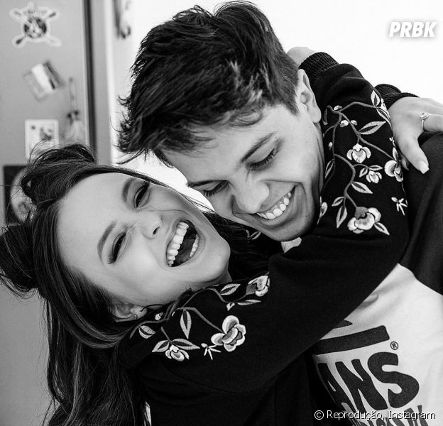 Larissa Manoela e Leo Cidade comemoram 5 meses de namoro