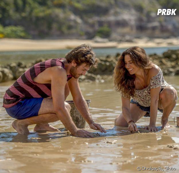 "Em ""Segundo Sol"", Luzia (Giovanna Antonelli) mente para Beto (Emilio Dantas)"