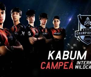 Kabum vence e vão participar da mundial de 'League of Legends'