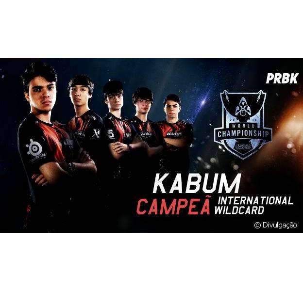 Kabum vence e vão participar da mundial de 'League of Legends'