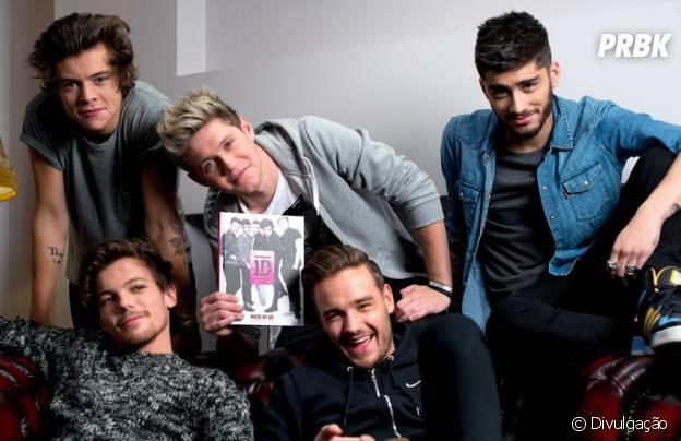 Os gatos do One Direction reunidos no lançamento do livro 1D