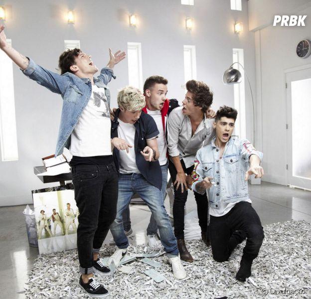 """One Direction nas gravações do clipe """"Best Song Ever"""""""