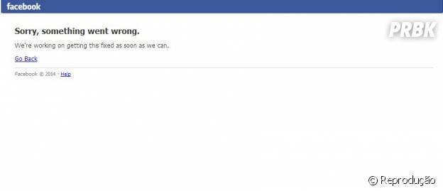 Facebook fica fora do ar e irrita usuários
