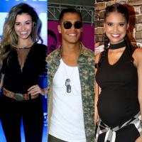 """Micael, Talita Younan e Aline Dias formarão triângulo amoroso na novela """"O Tempo Não Para"""""""