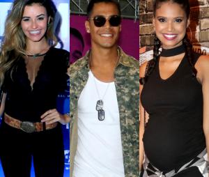 """Micael, Talita Younan e Aline Dias formarão triângulo amoroso em """"O Tempo Não Para"""", nova novela das 19h da Globo"""