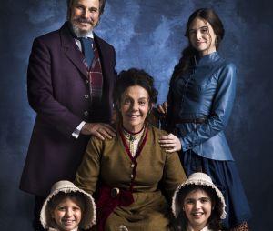 """Com Juliana Paiva como protagonista, a novela """"O Tempo Não Para"""" contará a história de uma família congelada em1886 que despertará nos dias atuais"""